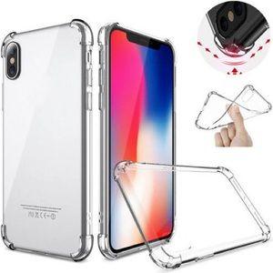 For Apple iPhone X Clear TPU Bumper Case